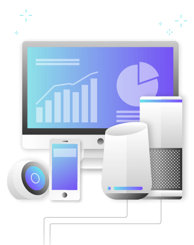 Web development, mobile development and support of voice assistants