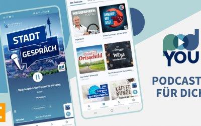 PodYou – die Konsole Podcast App für das Funkhaus Nürnberg