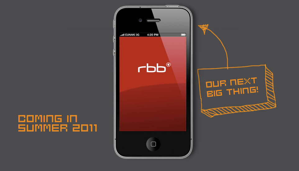 rbb Apps – The next big thing!